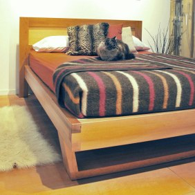 Fir Platform Bed